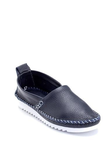 Derimod Kadın Ayakkabı(2121) Casual Lacivert